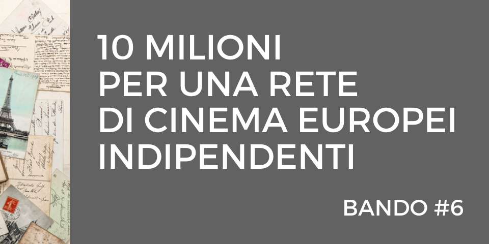 meetCULTURA_Support to Cinema Networks un bando europeo di 10 milioni per una rete di cinema indipendenti